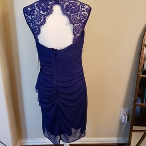 Cobalt blue party or special occasion dress.
